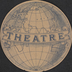 Advert for the Globe Theatre reverse(014EVA000000000U04002V00)